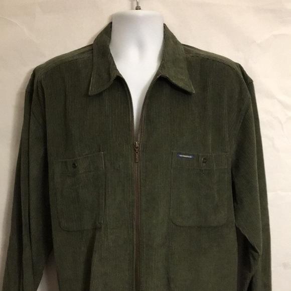 Levi Men Corduroy light jacket green extra large